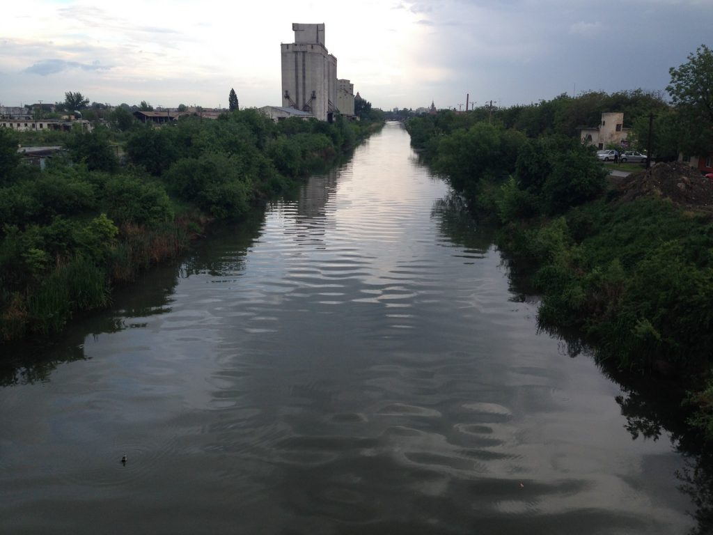 Consolidari Canal Bega in Mun. Timisoara